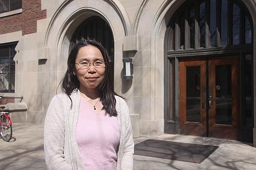 Lecture:<br />Asuka Sango