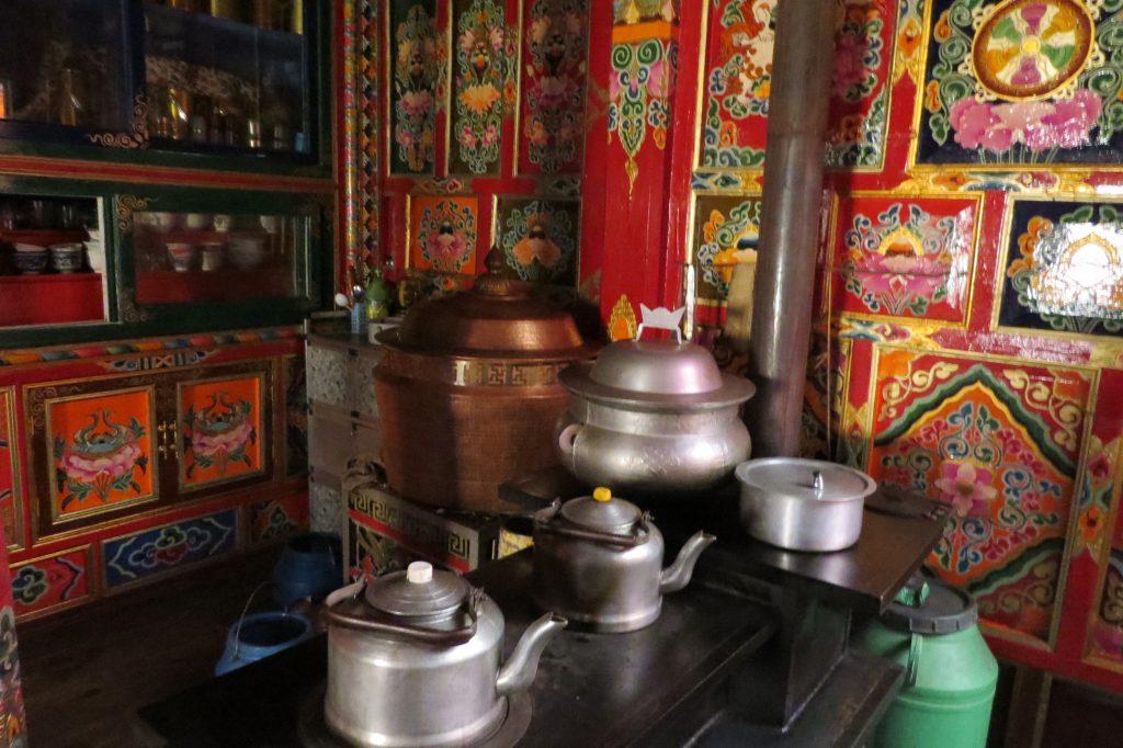 Kitchen in a home in Rampatsa