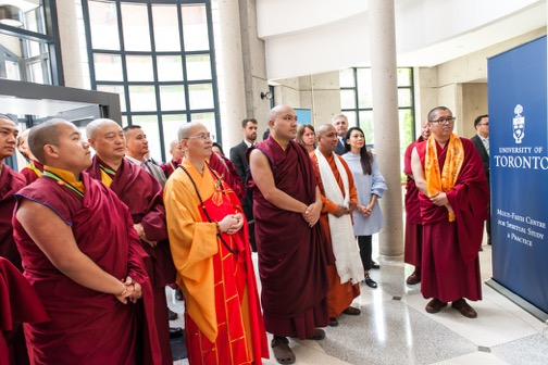 His Holiness the 17th Gyalwang Karmapa visits U of T