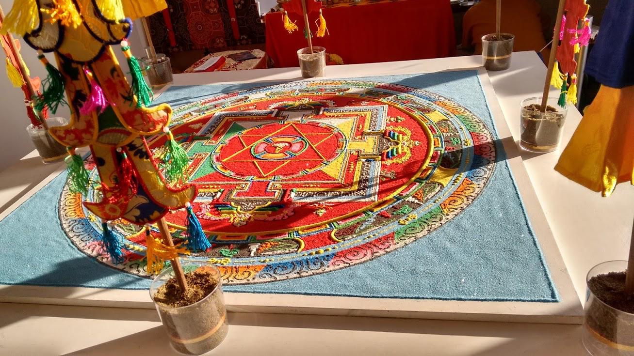 Echoes of the Sacred: Creating the Sand Mandala of Green Tara