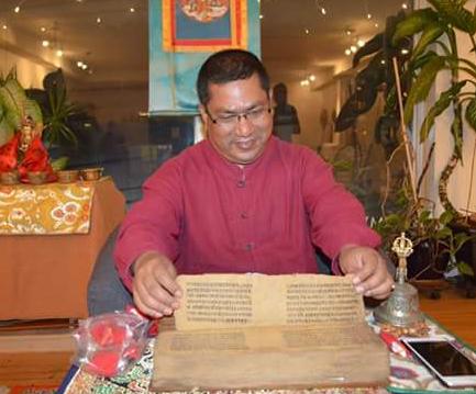 Welcoming Naresh Man Bajracharya