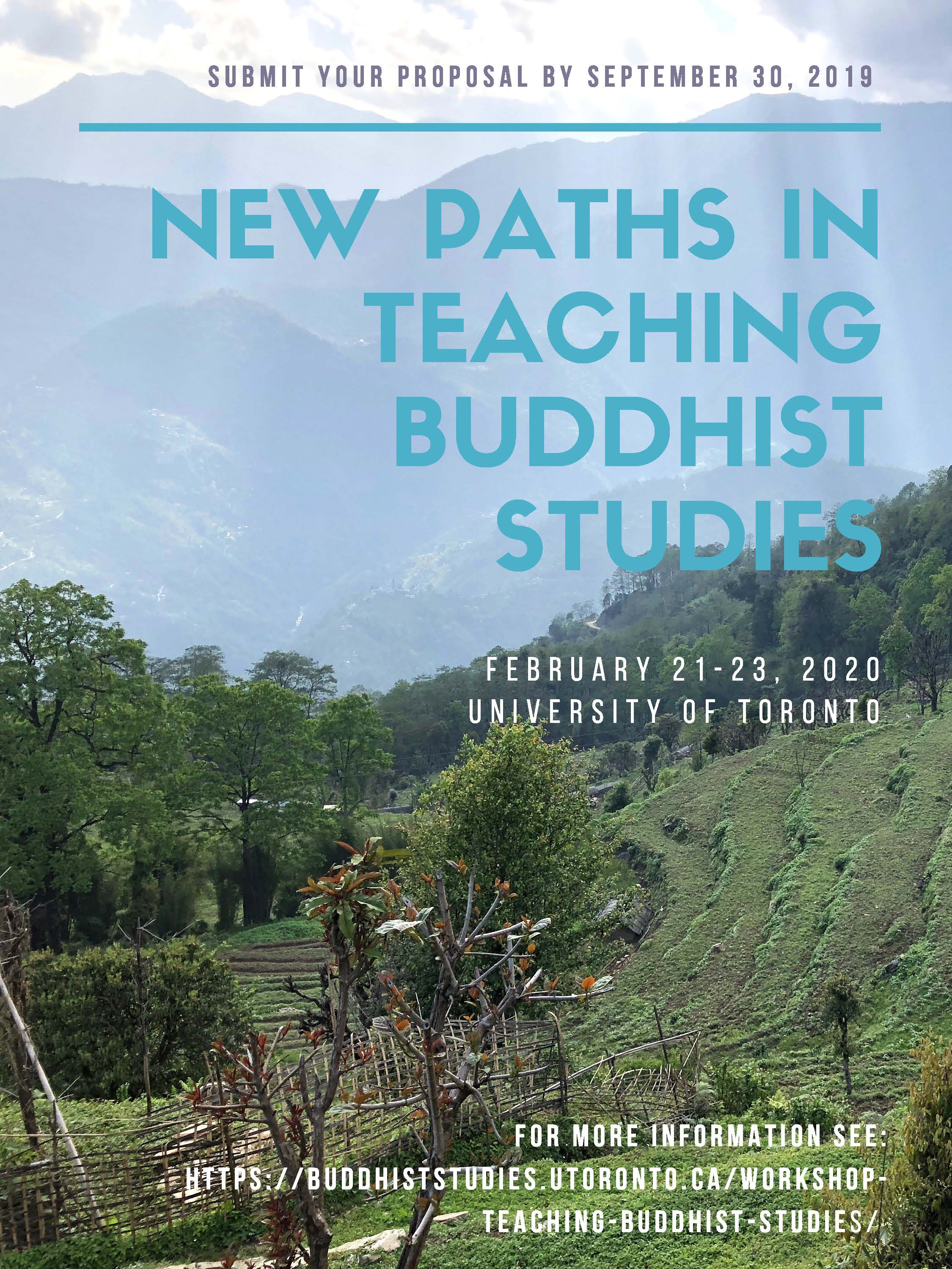New Paths in the Teaching of Buddhist Studies