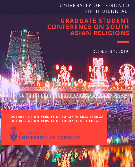 5th Biennial Graduate Conference on South Asian Religions