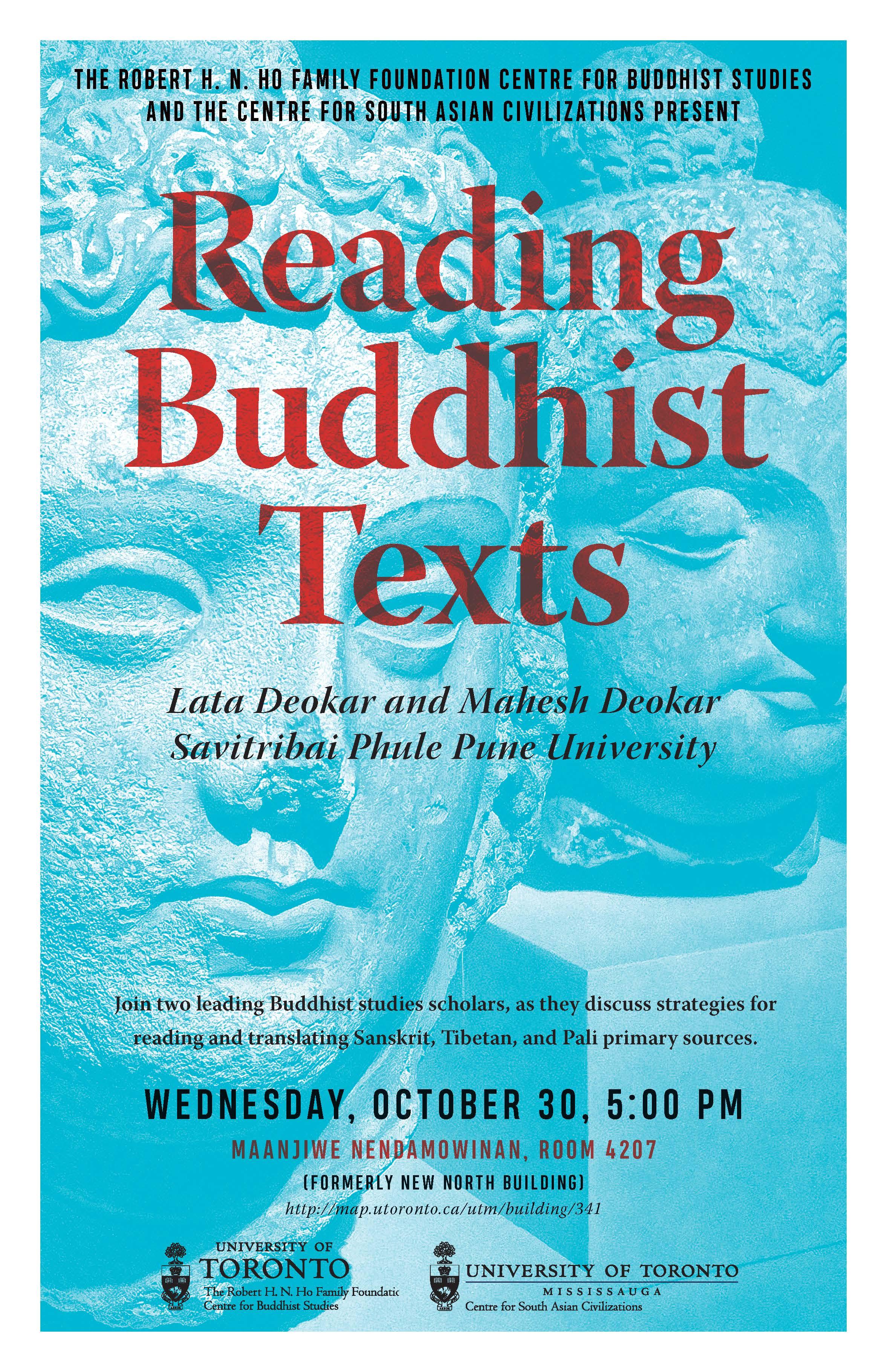 Reading Buddhist Texts